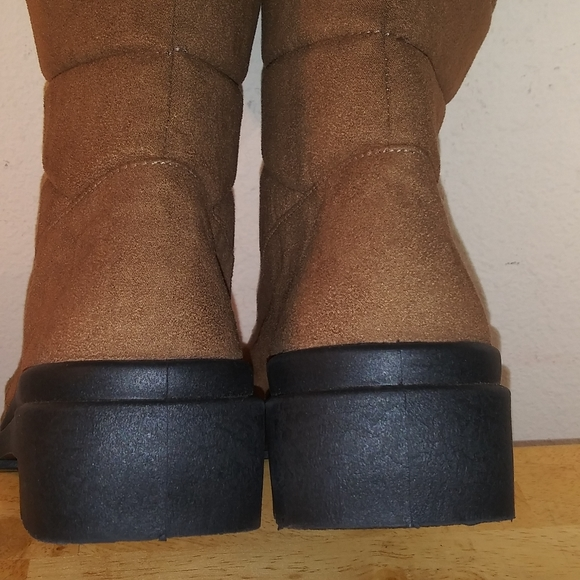 US8.5 Vintage Rohde 90s Suede Shoes Brown Leather Elegant Ankle Boots for Women size EU39  UK6.5  US8.5